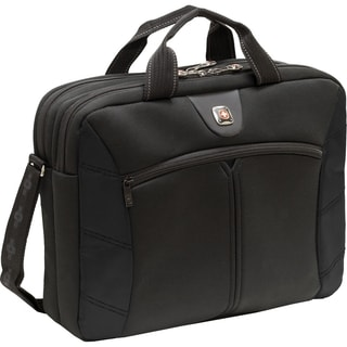 "SwissGear SHERPA GA-7465-02F00 Carrying Case for 15.6"" Notebook - Bla"