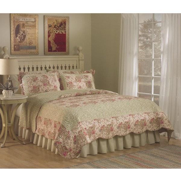 Parisian Paisley 3-piece Quilt Set