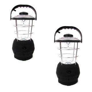 Hand-operated Crank Lantern (Set of 2)
