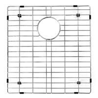 VIGO Chrome 16 3/8 x 17 1/2 inches Kitchen Sink Bottom Grid
