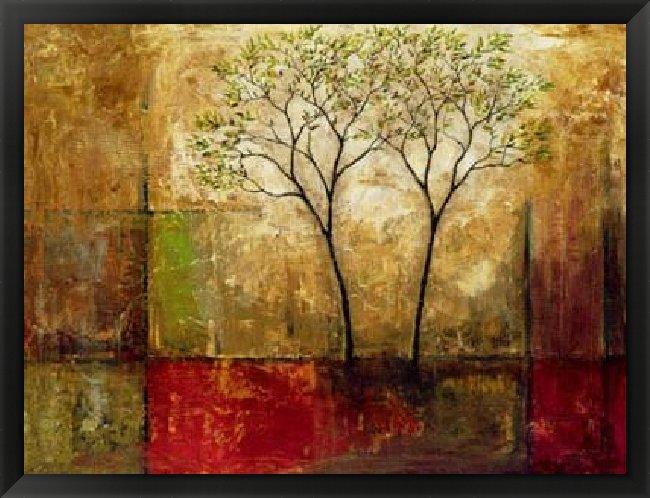 Mike Klung 'Morning Luster I' Framed Art