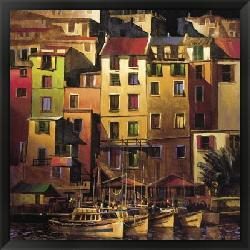 Michael O'Toole 'Mediterranean Gold' Framed Art Print - Thumbnail 2