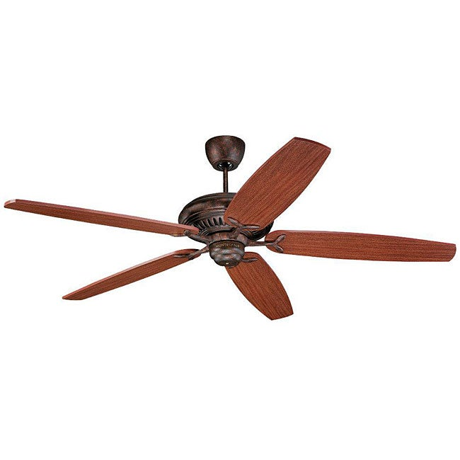 Monte Carlo High Performance Tuscan Bronze Mahogany Finished Indoor Ceiling Fan