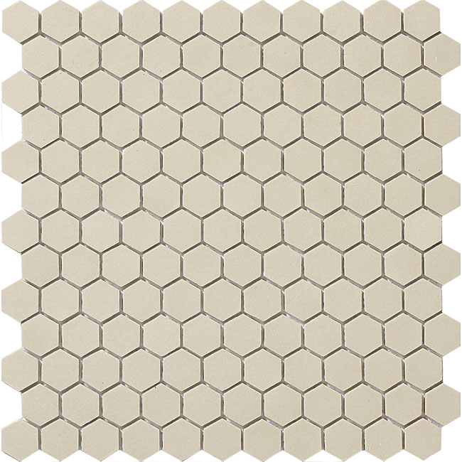 Somertile 11 75x12 In New York 1 In Hex Antique White