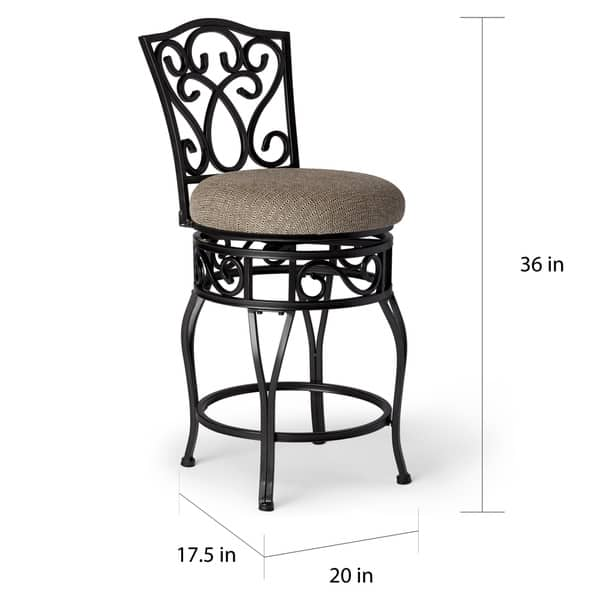 Astonishing Shop Gracewood Hollow Chase 24 Inch Swivel Counter Stools Ncnpc Chair Design For Home Ncnpcorg