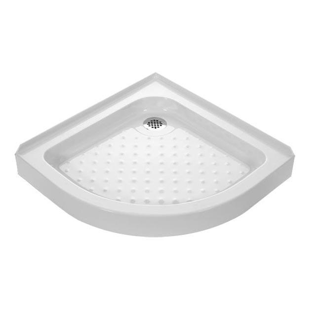 DreamLine Sector 36x36-inch Quarter Round Shower Tray
