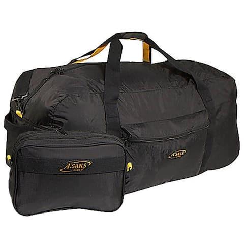 A.Saks 36-inch Lightweight Duffel Bag w/Pouch