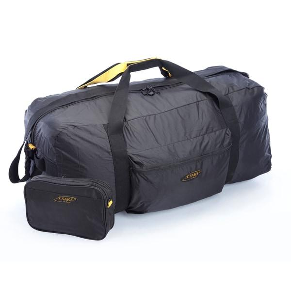 A Saks 36 Inch Lightweight Parachute Nylon Duffel Bag With
