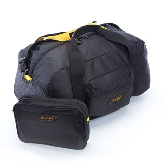 A.Saks 22-inch Lightweight Carry-on Parachute Nylon Duffel Bag with Pouch