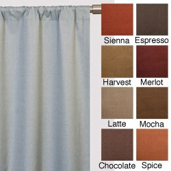 Trilogy Rod Pocket 96-inch Curtain Panel