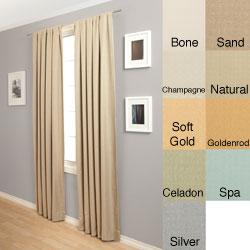 Softline Trilogy Rod Pocket 120-Inch Curtain Panel