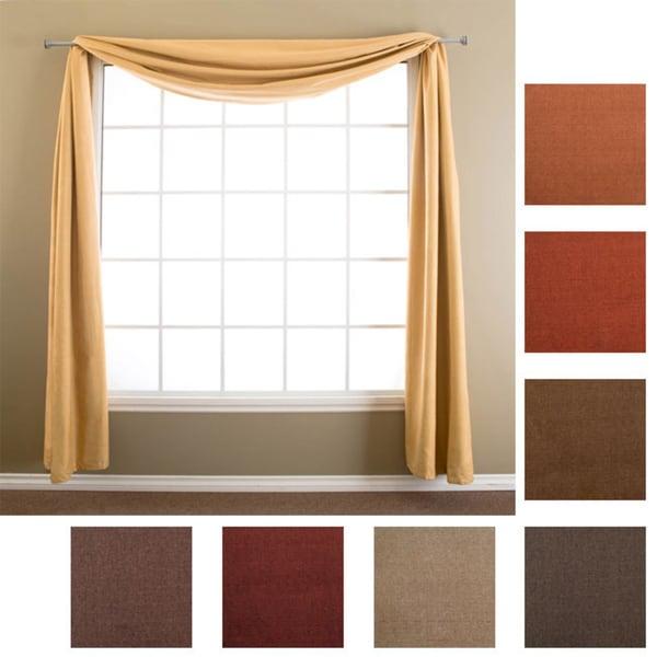 Softline Trilogy 6-yard Window Scarf