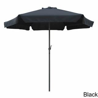 International Caravan St. Kitts 8 ft. Patio Umbrella (Option: Black Canopy)