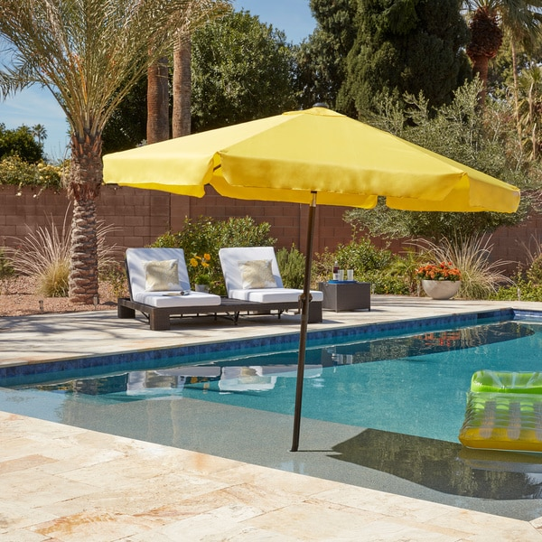 Charming International Caravan St. Kitts 8 Ft. Patio Umbrella
