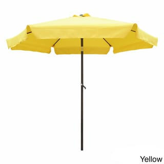 International Caravan Steel Rib 8 Foot Patio Umbrella