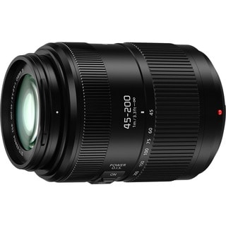 Panasonic H-FS045200 45-200mm f4-5.6 Telephoto Zoom Lens