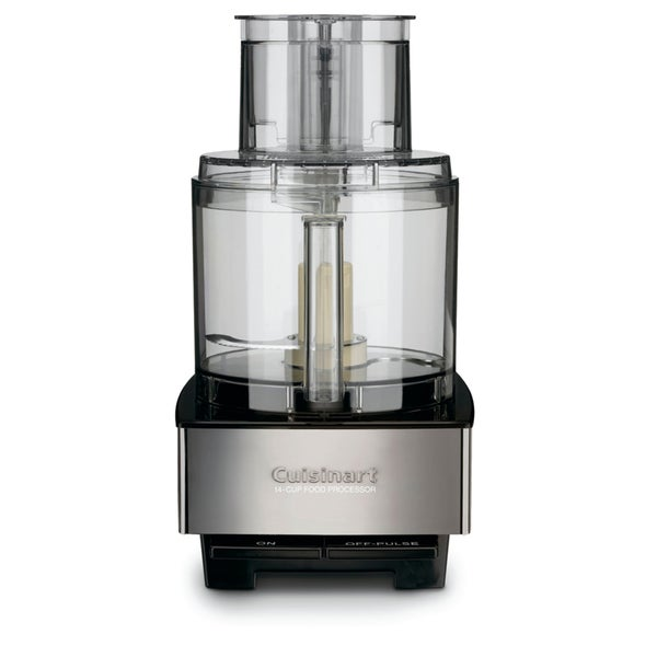 Cuisinart dfp 14bcn brushed stainless steel 14 cup custom - Cuisinart home cuisine ...