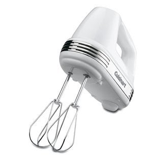 Cuisinart HM-70 White 7-speed Power Advantage Hand Mixer