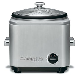 Cuisinart CRC-800 Brushed Stainless Steel 8-cup Rice Cooker