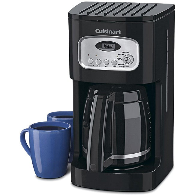 Cuisinart DCC-1100BK Black 12-cup Programmable Coffee Maker - Thumbnail 0