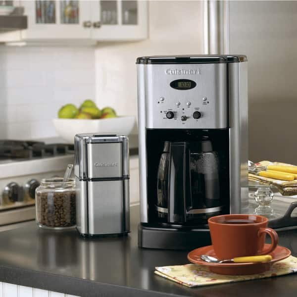 Shop Cuisinart DCC-1200 Brew Central 12-Cup Coffeemaker, Stainless Steel -  Overstock - 4216808