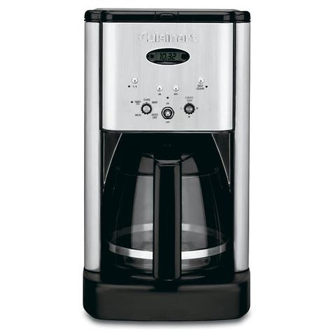 Cuisinart DCC-1200 Brew Central 12-Cup Coffeemaker, Stainless Steel