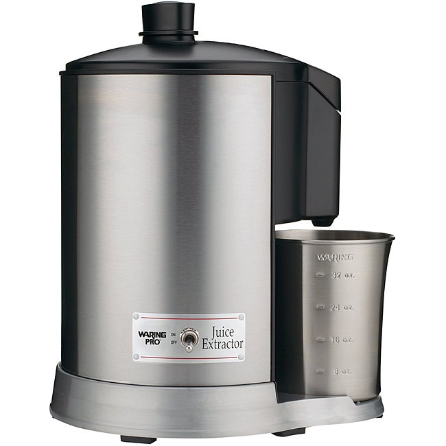 Waring JEX328 Stainless Steel Professional Juice Extractor - Free Shipping Today - Overstock.com ...