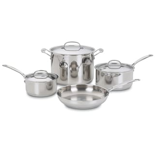 Cuisinart Chef's Classic 7-piece Stainless Steel Cookware Set
