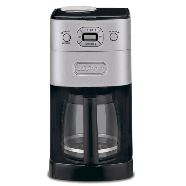 Cuisinart Dgb 625bc Brushed Metal Grind And Brew 12 Cup