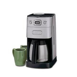 Cuisinart Brushed Metal Grind-and-Brew 10-cup Automatic Coffee Maker - Thumbnail 1