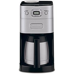 Cuisinart Brushed Metal Grind-and-Brew 10-cup Automatic Coffee Maker