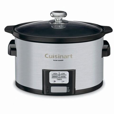 Cuisinart PSC-350 Stainless Steel 3.5-quart Programmable Slow Cooker