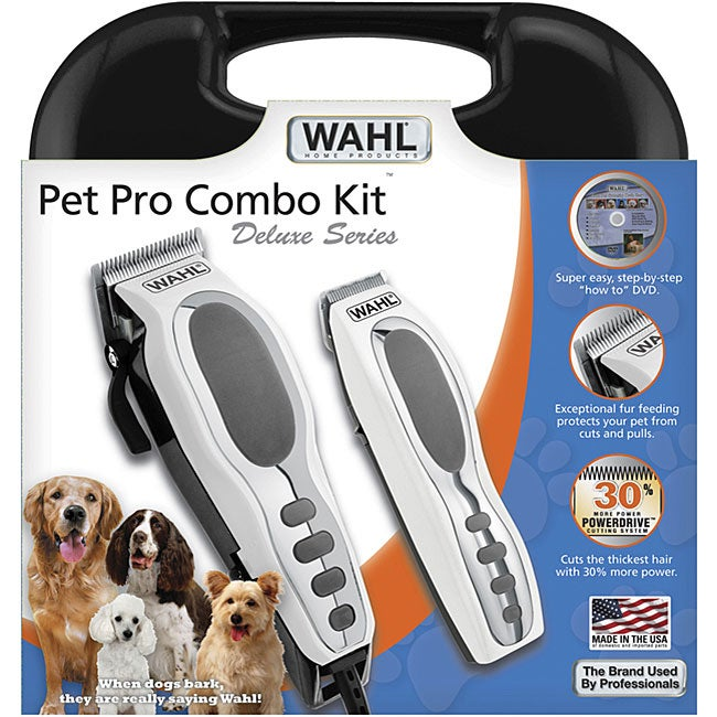 Wahl Grooming Pro 17-piece Pet Combo Kit