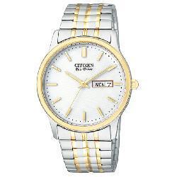 Citizen Men's Eco-Drive Two-tone Flexible Bracelet Watch