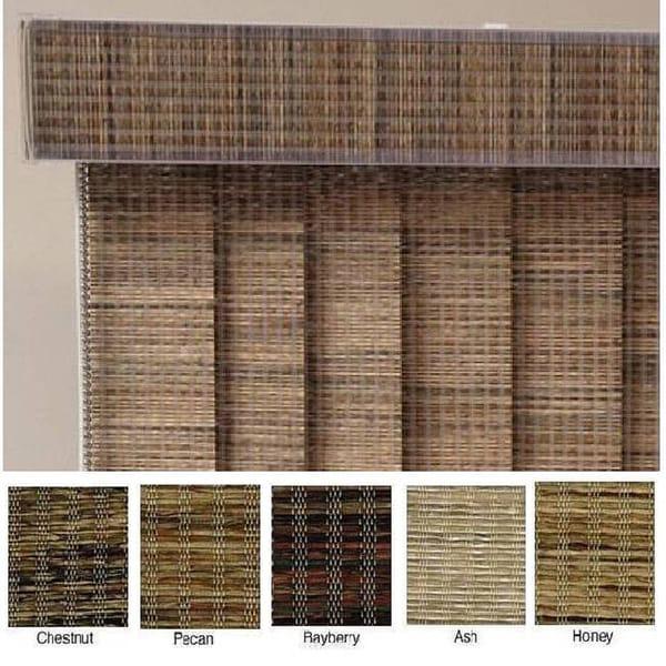 Edinborough Fabric Vertical Blinds (26 in. W x Custom Length)