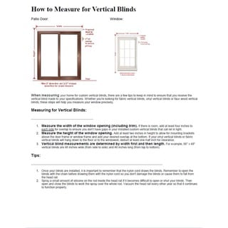 "Vertical Blinds - Edinborough 3 1/2"" Free-Hang Fabric (40 Inches Wide x 5 Custom Lengths) with Valan"