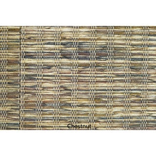 """Vertical Blinds - Edinborough 3 1/2"""" Free-Hang Fabric (44 Inches Wide x 5 Custom Lengths) with Valan"""