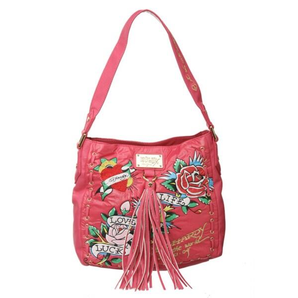 Shop Ed Hardy  Bernice  Shoulder Bag - Free Shipping Today ... 321592215557a