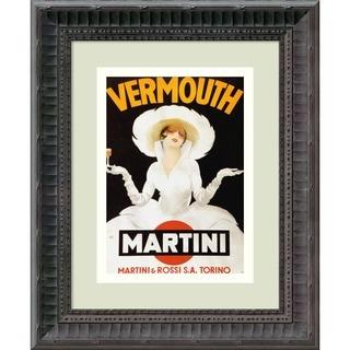 Marcello Dudovich 'Vermouth Martini (ca. 1918)' Framed Art Print