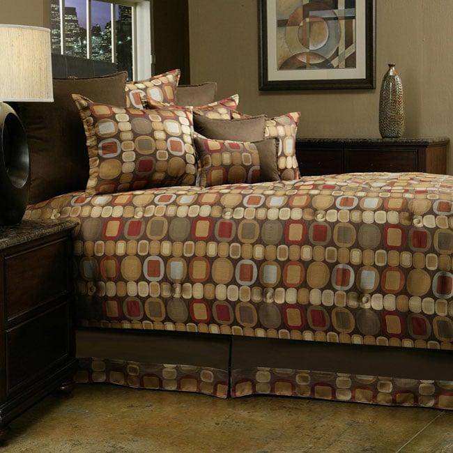 Sherry Kline Metro Spice Jacquard 8-piece Comforter Set