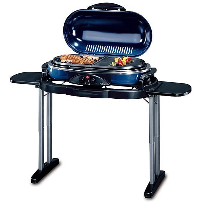 RoadTrip 20,000-BTU Open-flame Propane Drip-through Grill with Stand