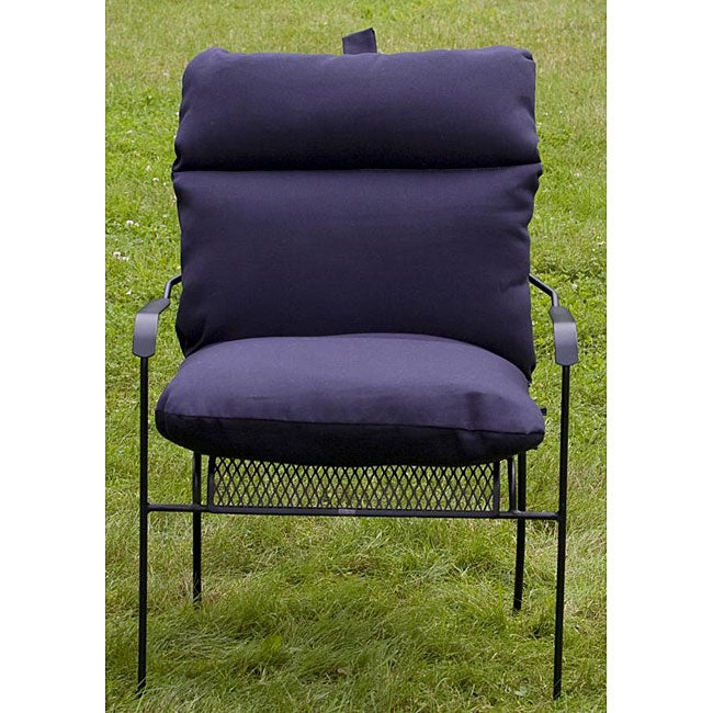 Outdoor Club Navy Blue Chair Cushion Free Shipping Today