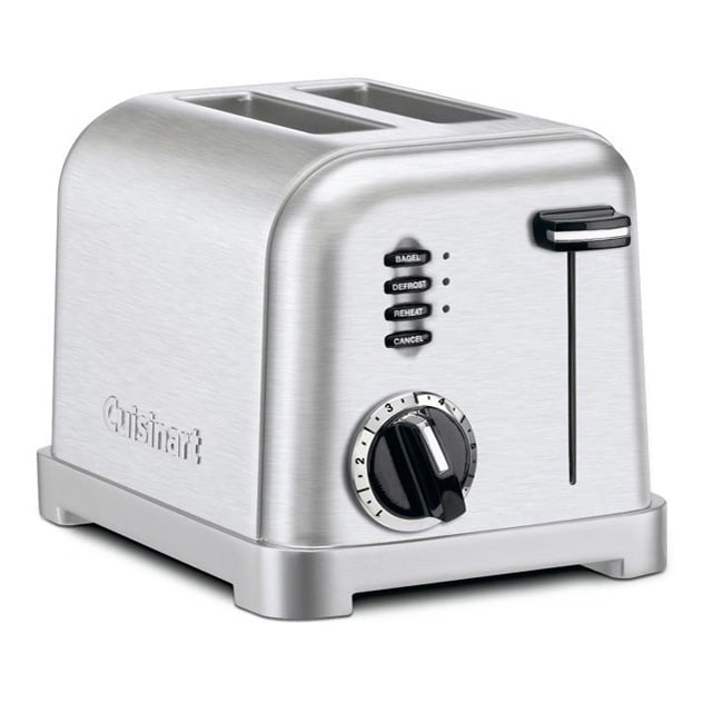 Cuisinart CPT-160FR Classic Brushed Stainless Steel Toaster (Refurbished)