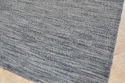 Hand Tufted Mixed Grey Abrash Wool Rug 5 X 8 Free