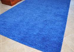 Blue Fusion Wool Rug (8' x 10') - Thumbnail 1