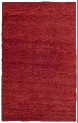 Red Fusion Wool Rug (8' x 10') - Thumbnail 2
