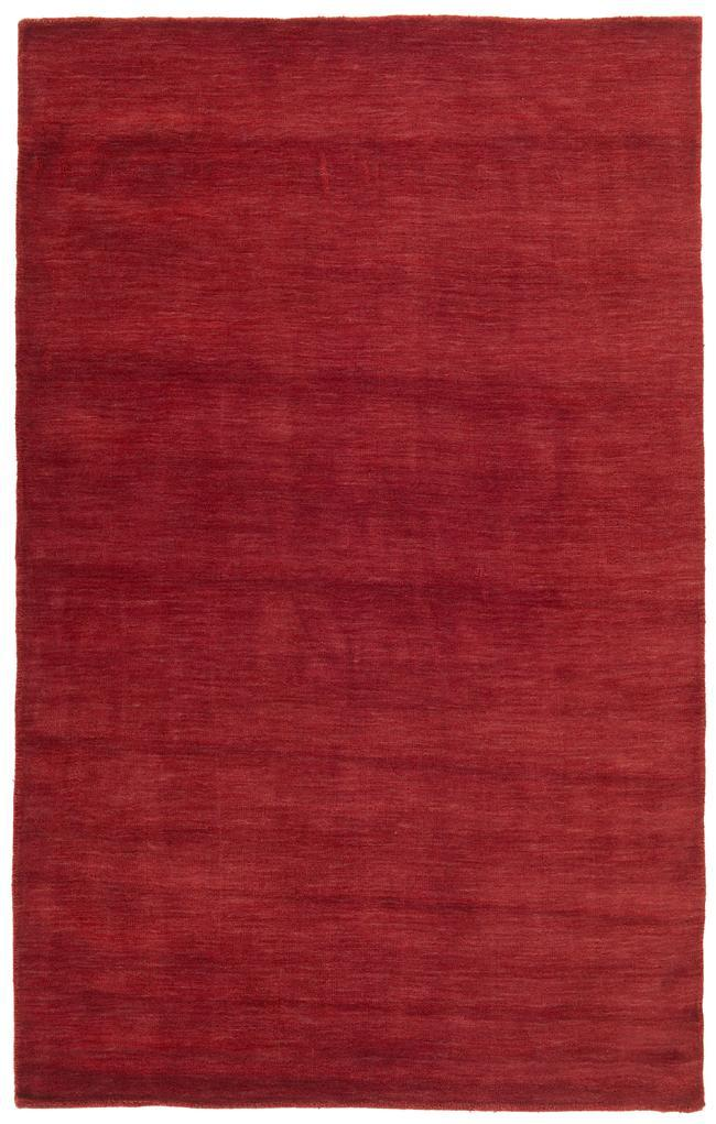 Red Fusion Wool Rug (8' x 10') - Thumbnail 0