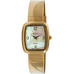 Peugeot Women's Goldtone Spiral Mesh Bracelet Watch|https://ak1.ostkcdn.com/images/products/4224274/Peugeot-Womens-Goldtone-Spiral-Mesh-Bracelet-Watch-P12217511.jpg?impolicy=medium