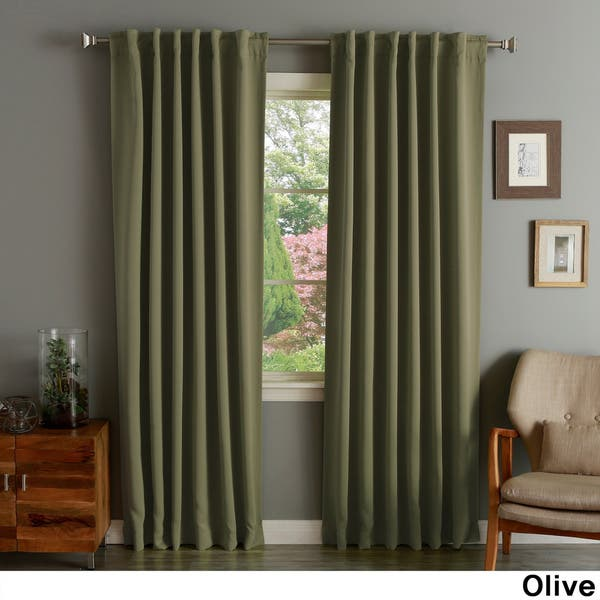 108 Inch Blackout Curtain Panel Pair