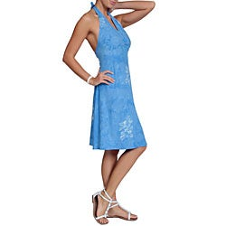 1 World Sarongs Women's Hibiscus Sundress (Indonesia)